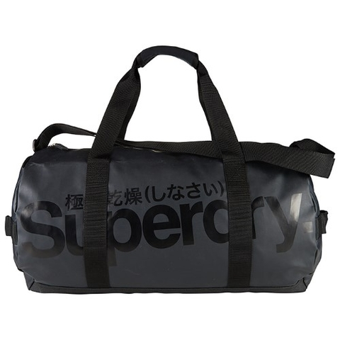 Superdry Tarp Barrel Bag Black