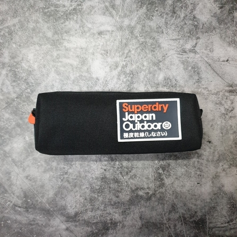 Superdry Trinity Pencil Case Black