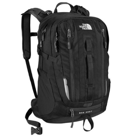The North Face Box Shot Backpack Black