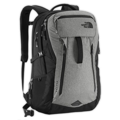 The North Face Router 2015 Backpack Black/Grey