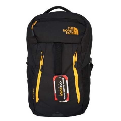 The North Face Router 2015 Backpack Black/Yellow