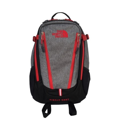 The North Face Single Shot Backpack Grey/Red