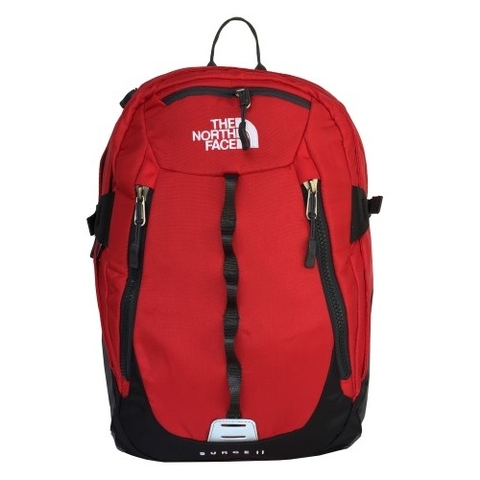 The North Face Surge II Backpack All Red