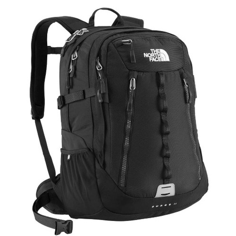The North Face Surge II Backpack Black