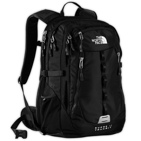 The North Face Surge II Transit Black