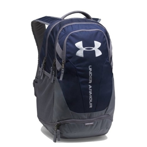 Under Armour Hustle 3.0 Backpack Navy/Grey