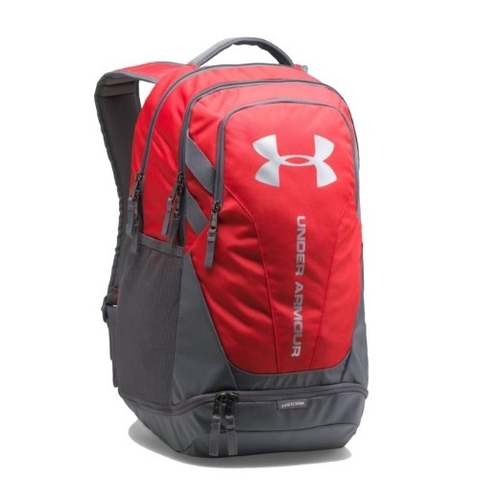 Under Armour Hustle 3.0 Backpack Red/Grey