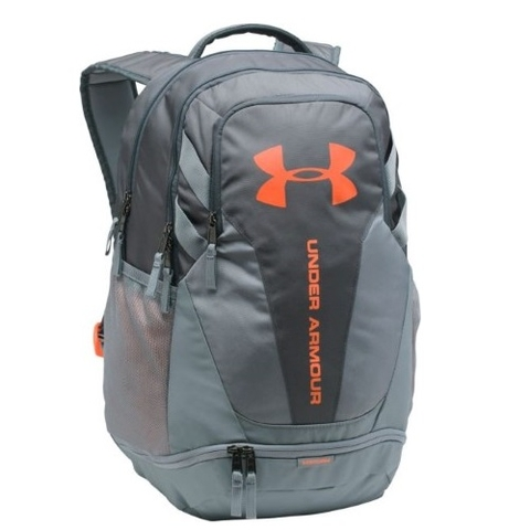 Under Armour Hustle 3.0 Backpack Rhino Gray