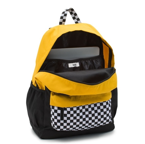 Balo Vans Sporty Realm Plus Backpack Black/Trifecta