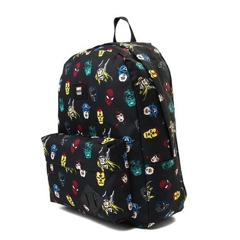 Balo Vans X Marvel Old Skool II Backpack Black