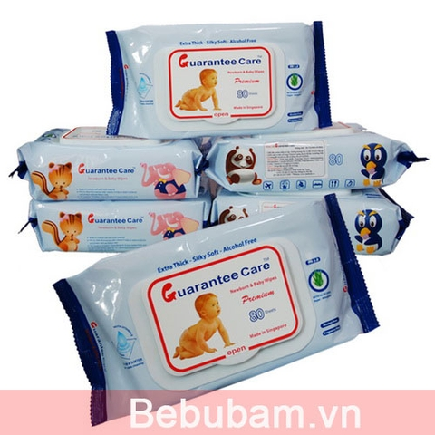 Khăn ướt Guarantee Care