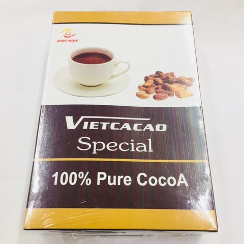 Bột Cacao Vietcacao Special-Bình Minh, hộp (400g)'