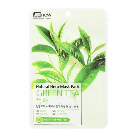 Mặt nạ Green Tea Benew Natural (22ml)
