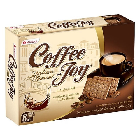 Bánh quy Coffee Joy-Mayora (360g/8p*45g)'