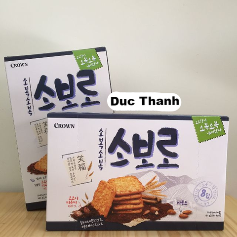 Bánh Crown Soboro Cracker (240g)