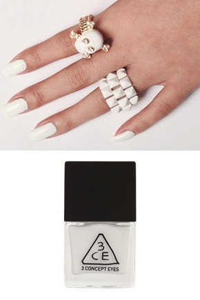 3CE NAIL LACQUER #WH01