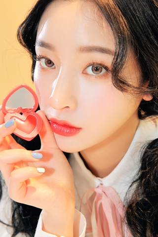 3CE HEART POT LIP #CORAL