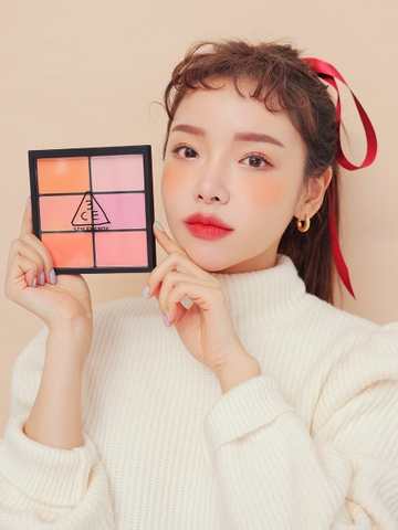 3CE PRO MULTI BLUSH COLOR PALETTE #PURE PLAY