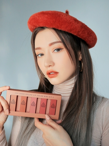3CE MOOD RECIPE LIP COLOR MINI KIT 2