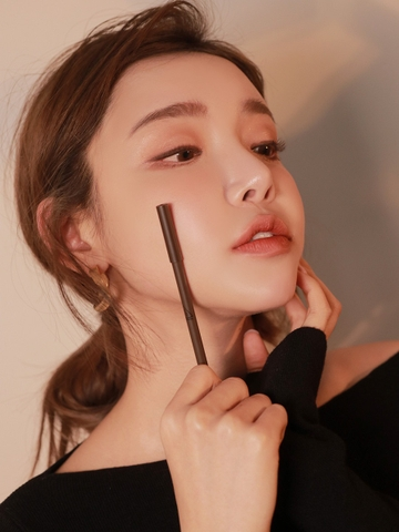 3CE SUPER SLIM WATERPROOF EYE LINER #DEEP BROWN