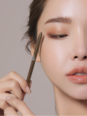 3CE SUPER SLIM WATERPROOF EYE LINER #RAW UMBER