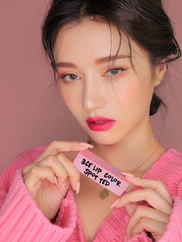3CE PINK RUMOUR LIP COLOR #808 SPOTTED
