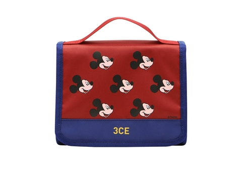 [3CE | Disney] 3CE WASH BAG_SMALL #RED