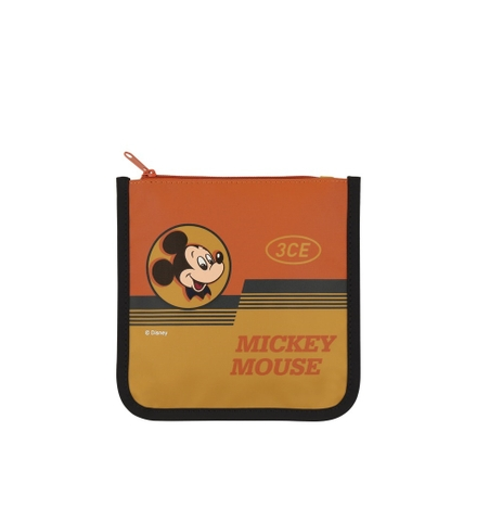[3CE | Disney] 3CE SQUARE POUCH #YELLOW