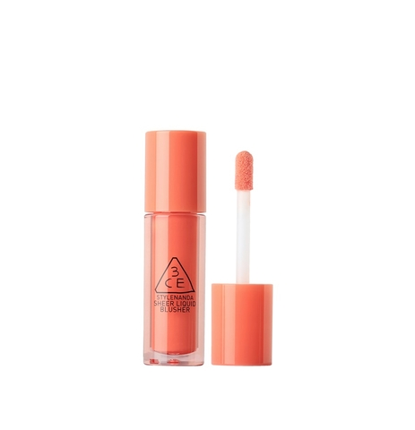 3CE SHEER LIQUID BLUSHER #COZY PEACH