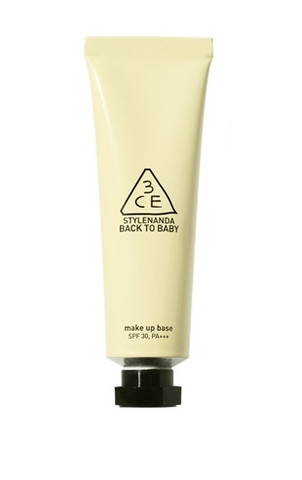 3CE BACK TO BABY MAKE UP BASE CREAM YELLOW