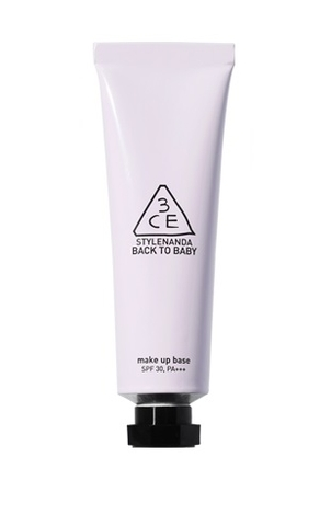 3CE BACK TO BABY MAKE UP BASE LAVENDER