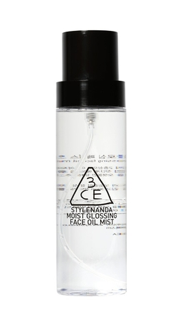 3CE MOIST GLOSSING FACE OIL MIST
