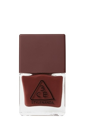 3CE MOOD RECIPE LONG LASTING NAIL LACQUER #BR06
