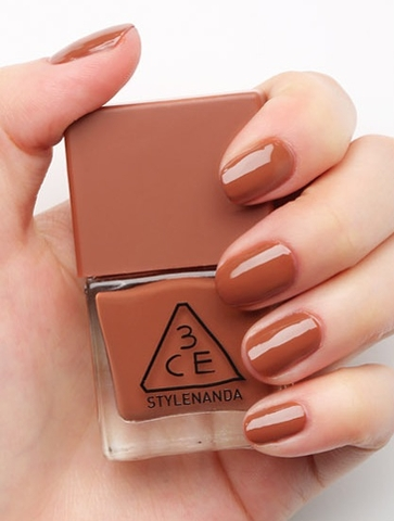 3CE MOOD RECIPE LONG LASTING NAIL LACQUER #BR07