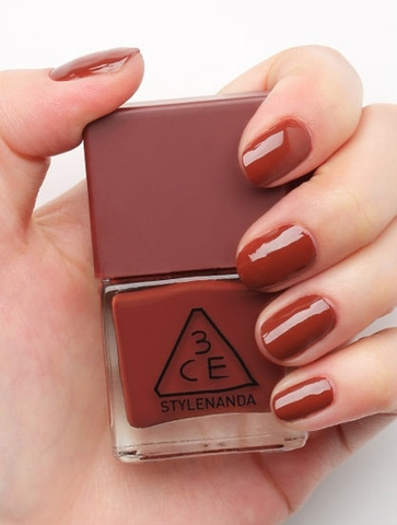 3CE MOOD RECIPE LONG LASTING NAIL LACQUER #RD07