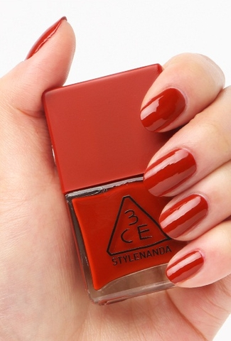 3CE RED RECIPE LONG LASTING NAIL LACQUER #RD08