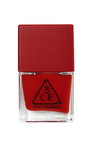 3CE RED RECIPE LONG LASTING NAIL LACQUER #RD10