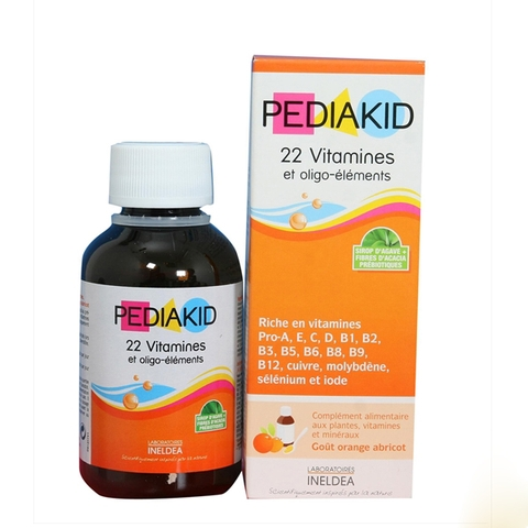 PEDIAKID 22 Vitamines 125ml