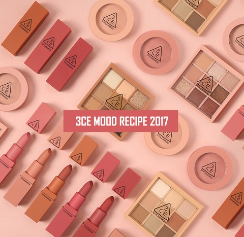 3CE Mood Recipe 2017 dạnh thỏi