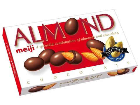 Chocolate Meiji Almond 88g