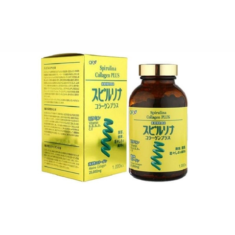 Tảo Spirulina Collagen Plus 1000 viên