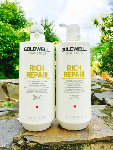Cặp gội xả Goldwell Rich Repair 1000ml