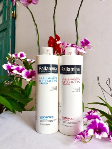 Dầu gội Pallamina Collagen Keratin 500ml