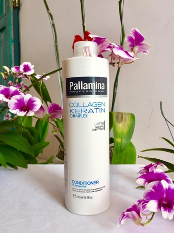 Dầu xả Pallamina Collagen Keratin 500ml