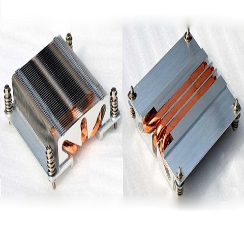 Heatsink 1U, socket 1366 - 2011