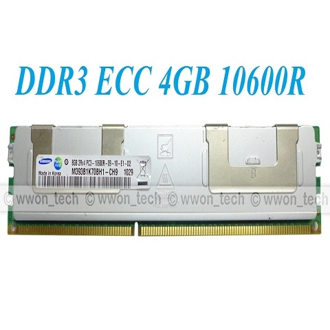 DDR3 ECC Registered 4GB 2rx4 PC3-10600R