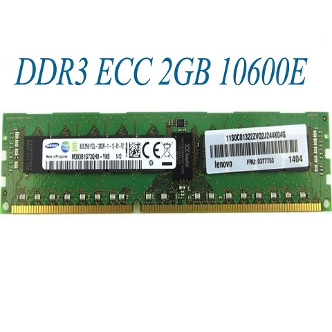DDR3 ECC Unbuffered 2GB 8500E