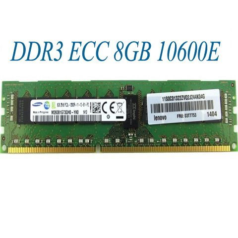 DDR3 ECC Unbuffered 8GB 10600E