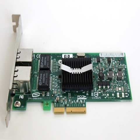 Card Lan HP NC360T - 2 port 1Gbps