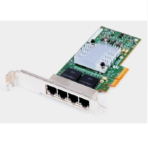 HP NC364T, 4 port 1Gbps